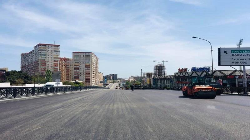Sürücülərin nəzərinə: Bu yol açılır (FOTO)