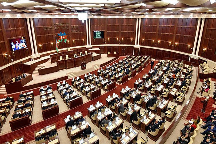 Milli Məclisin iclasının gündəliyi dəyişdi - SİYAHI