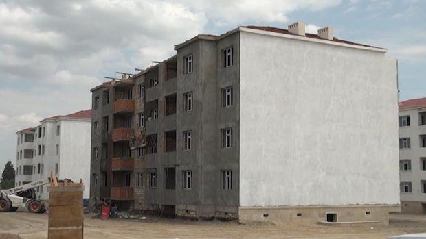 Məcburi köçkünlər üçün yeni yaşayış kompleksi salınır - Samuxda ilk dəfə... ...