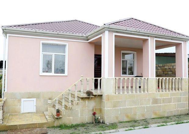 Şəhid ailələri və müharibə əlilləri üçün 800 fərdi yaşayış evi inşa olunur
