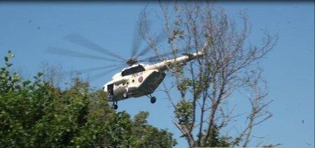 Balakəndə narkobaron helikopterlə tutuldu - TƏFƏRRÜAT