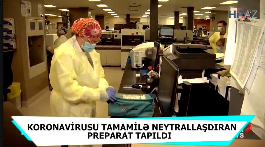 ŞAD XƏBƏR! Koronavirusun dərmanı axır ki, tapıldı - VİDEO