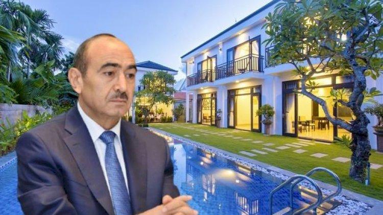 Əli Həsənovun Antalyadakı villasının fantastik qiyməti