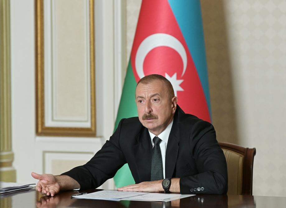 İlham Əliyev: Azərbaycanın ərazi bütövlüyü heç vaxt danışıqlar mövzusu olma ...