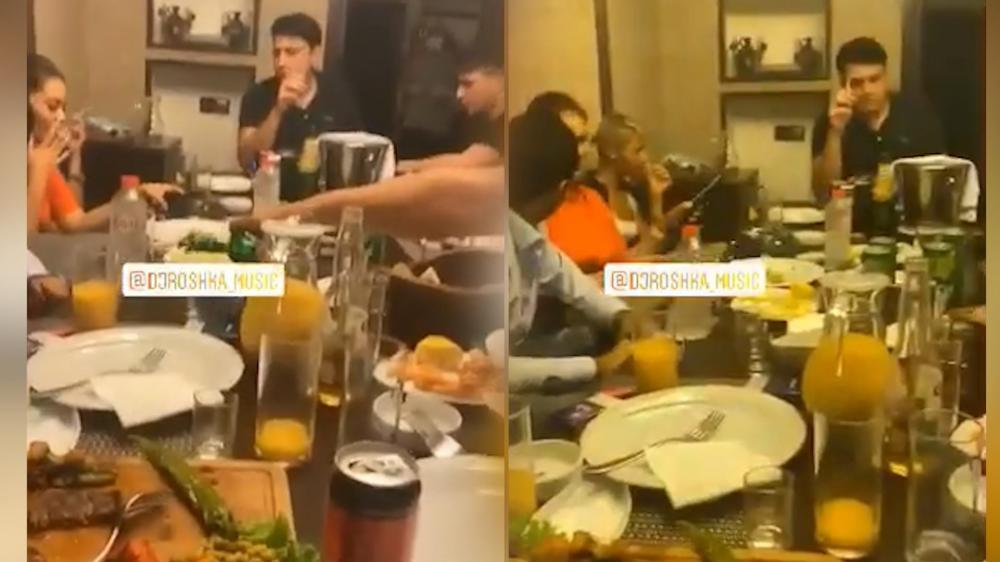 Məşhur DJ Bakıda karantin qaydalarını pozdu - VİDEO
