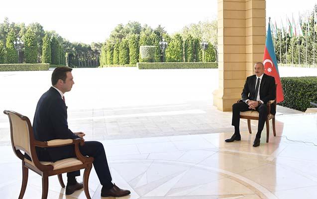 """Prezident """"Haber Global""""a müsahibə verdi"""