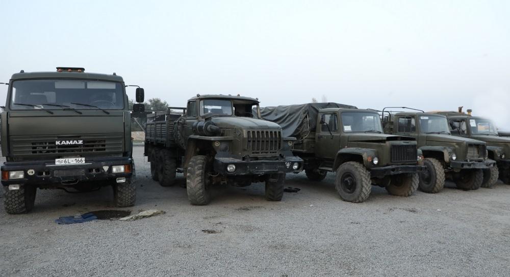 Ermənistan ordusunun daha bir neçə hərbi texnikası