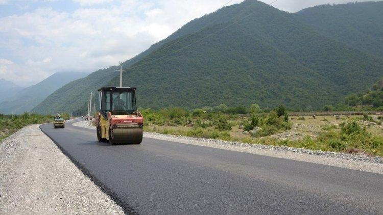Qarabağda yeni avtomobil yolu çəkilir