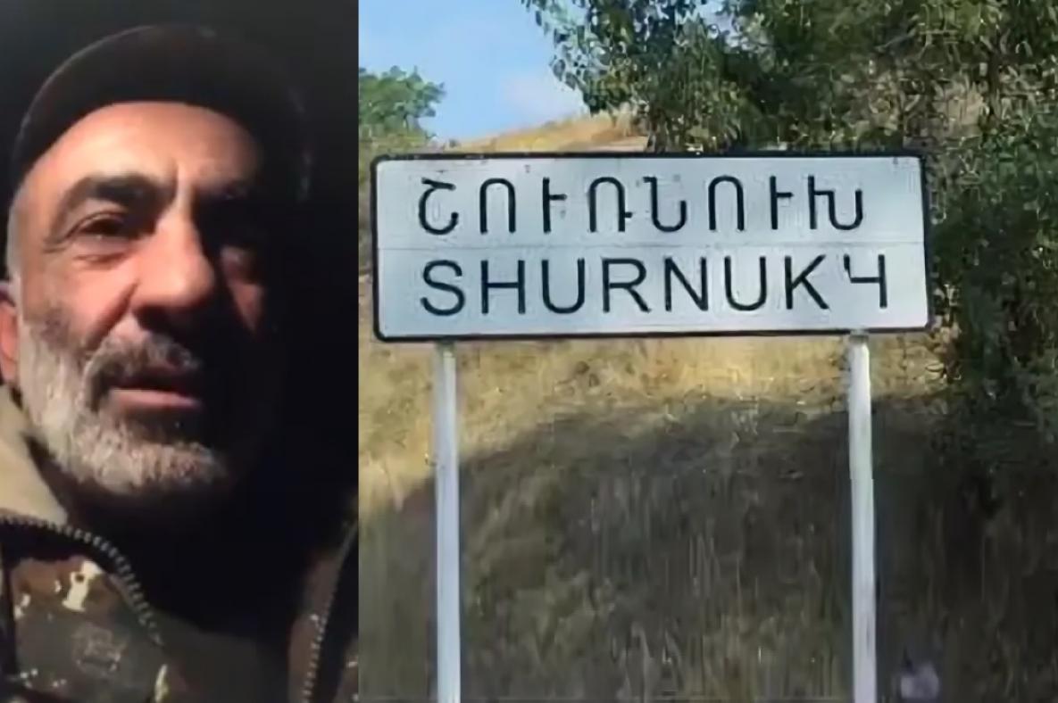 Ermənilər Zəngəzurun Şurnuxu kəndi istiqamətində təxribat hazırlayır