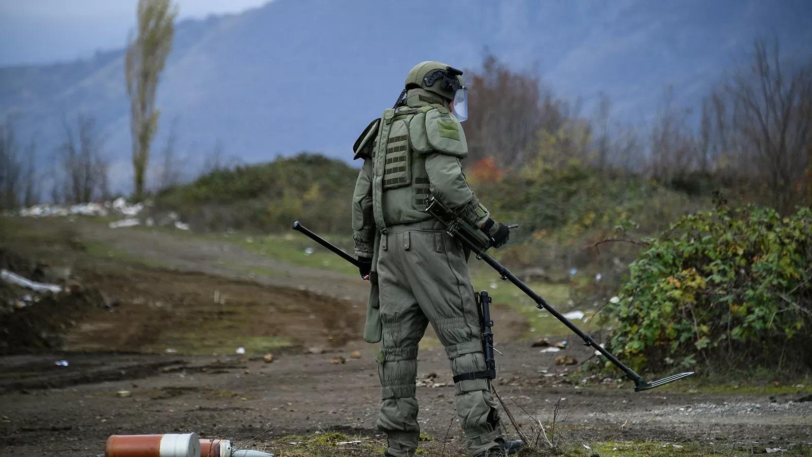 Rus zabit Şuşada minaya düşərək həlak oldu