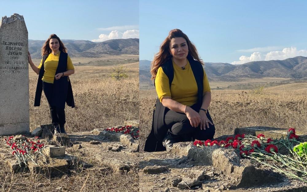 Xalq artisti 28 il sonra ata və bacısının məzarını ziyarət etdi- Fotolar
