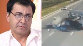 Aslan Hüseynovun qəza anının videosu