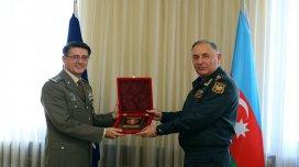 Ordumuzun Baş Qərargah rəisi NATO nümayəndəsi ilə görüşdü