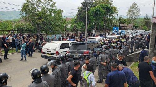 Gürcüstandakı soydaşlarımızla svanlar arasında yeni İNSİDENT