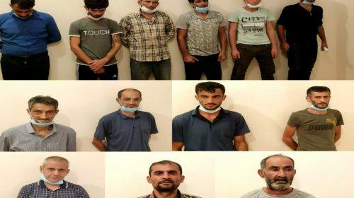 Lənkəranda əməliyyat: Narkotik satan 13 nəfər saxlanıldı