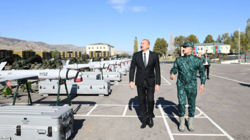Şərqi Zəngəzurda yeni hərbi hissə kompleksi açıldı - FOTO