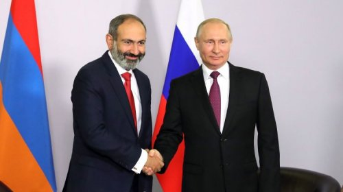 Paşinyan Putinin xəritə təklifi ilə RAZILAŞDI